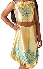 Rubies 640731 9 – 10 Disfraz de princesa Disney Pocahontas Gem, Niñas, XL