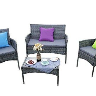 Yakoe Eton Range Outdoor rattan Garden Furniture sofa set
