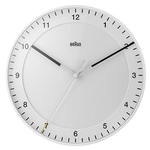 Braun orologi da parete analogico Plastica White bnc017whwh, bianco