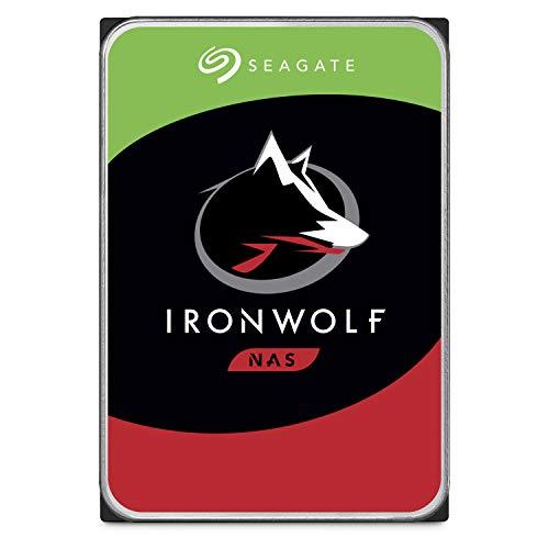 Seagate ST6000VNZ0338,9cm 6TB Ironwolf hard disk interno per 1-8Bay NAS...
