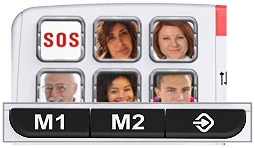 SWISSVOICE Xtra 1110 Téléphone Filaire Blanc 25