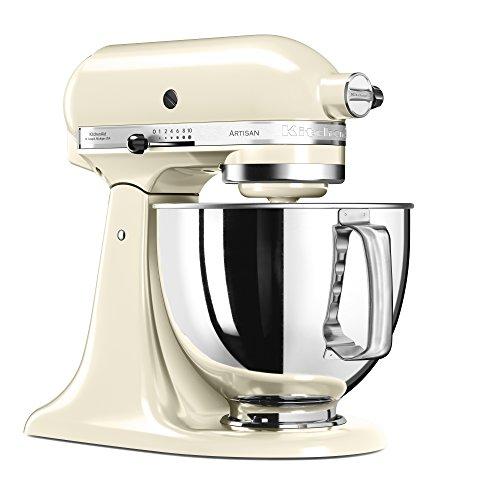 Kitchenaid 5KSM125EAC Artisan Robot pâtissier Creme 4.8 L 300 W
