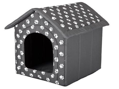 Hobbydog Dog House, Taglia 1, Grigio con Zampe