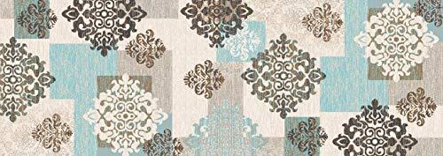 BuyElegant Modern Art Theme Antiscivolo Area tappeti/Moquette, Realizzato con 100% Poliestere e in...