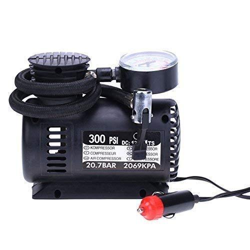 Denique car air Pump for Tyres car air Pump Electrical(Black)