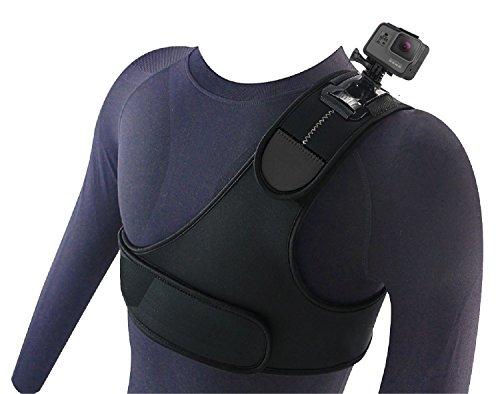 Navitech kite surf / surfer / neoprene singola cinghia al collo della spalla cintura per la GoProHero 5