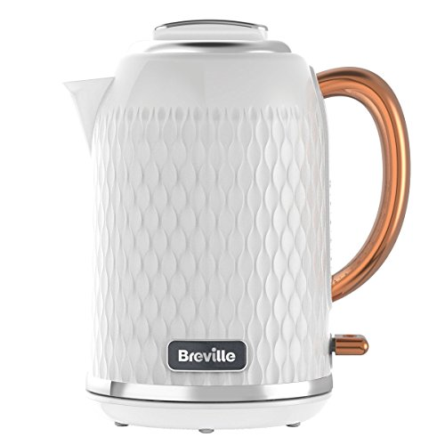 Breville Curve 1.7L kettle (white and gold) (3000w)