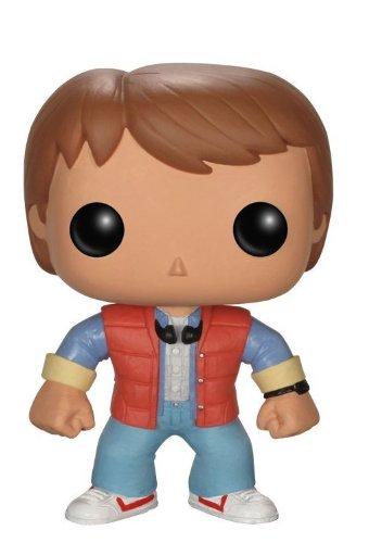 Pop! Movies - Marty McFly de Regreso al futuro, figura de 10 cm (Funko FUNVPOP3400)