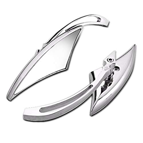 Motorrad-Spiegel Craftride CS18 für Chopper und Custombikes Chrom 1
