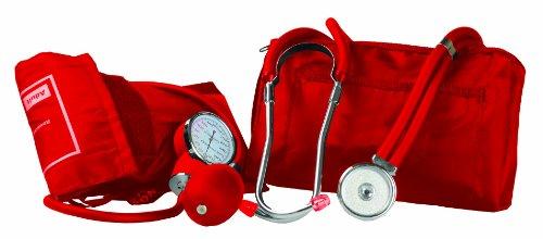 Forniture PrimaCare Medical DS-9181 Rosso professionale sanguigna Kit di pressione con Sprague...