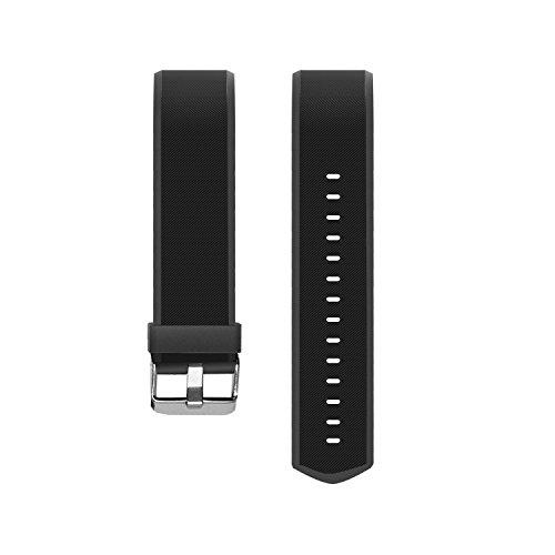 Vigorun Cinturini per traccianti di Forma Fisica Braccialetti di Ricambio YG3 Plus HR Activity Tracker (Nero)