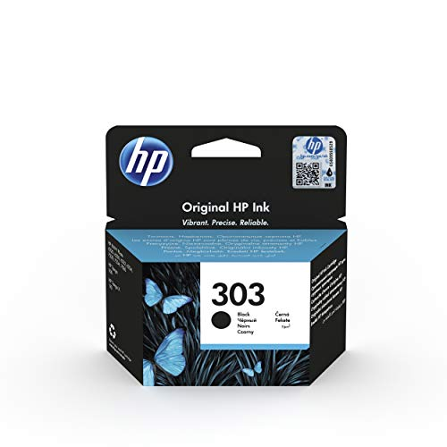 HP 303 T6N02AE Cartuccia Originale Compatibile con le Stampanti a Getto d'Inchiostro HP Tango e...