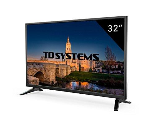 Televisore Led 32 Pollici HD TD Systems K32DLM7H. Risoluzione 1366 x 768, 3x HDMI, VGA, 2x USB...