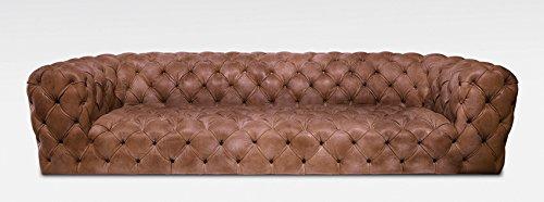 LuxuryLeather3 Chester Moonn lusso del divano, consegna gratuita