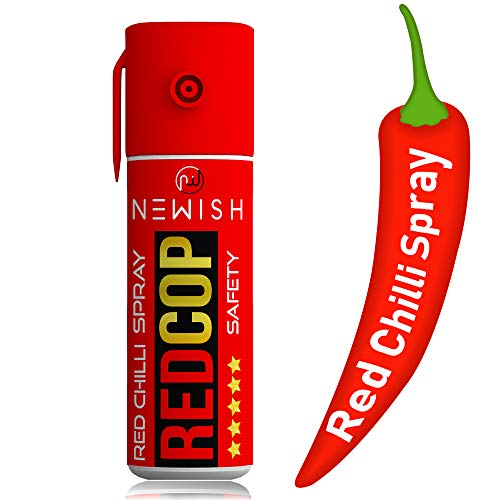 Newish Self Defense Powerful Red Chilli Spray for Women (55 ml/35 g)