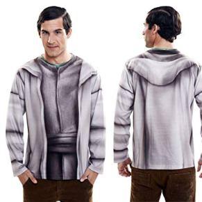 Disfraz Camiseta de Star Wars Yoda Original de Carnaval para Hombre L de Microfibra - LOLAhome