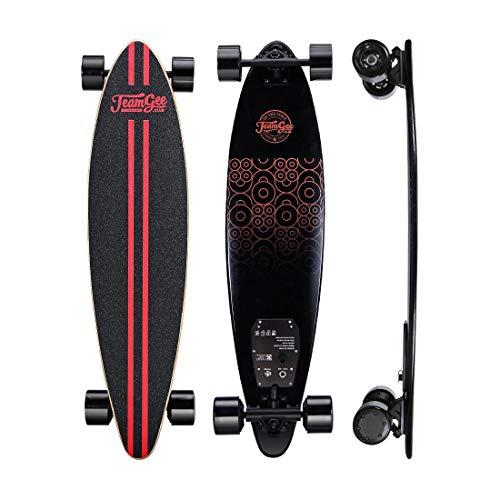 Cruiser Elettrico Skateboard Longboard Doppio Motore con Telecomando Skateboard Sportivo...