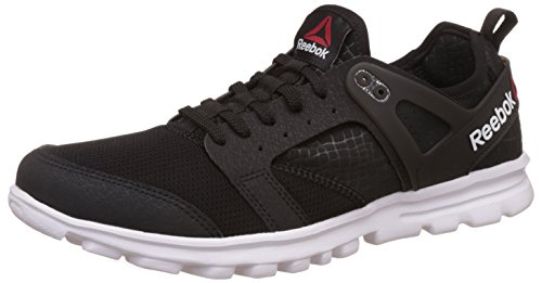 Reebok Men's Amaze Run Black and White Running Shoes - 9 UK/India (43 EU) (10 US)