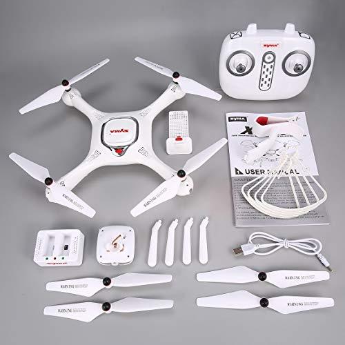 Funnyrunstore Syma X25PRO 2.4G GPS Posizionamento FPV RC Drone Quadcopter con 720P HD WiFi...