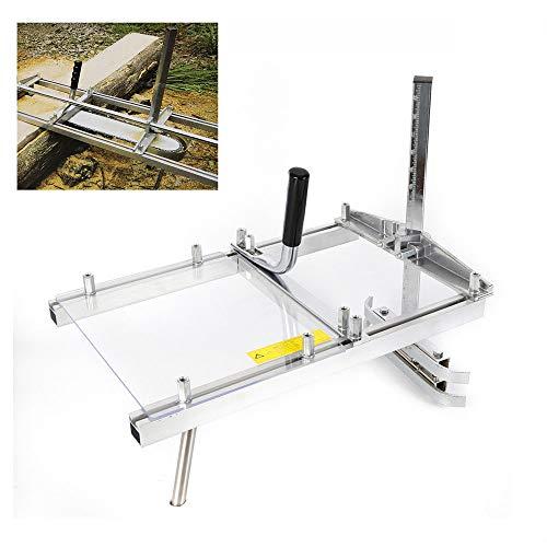 OUKANING - Sierra portátil para motosierra, motosierra de madera, tabla de 20 pulgadas