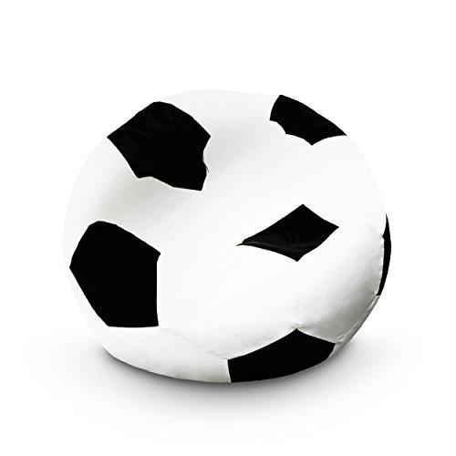 Lumaland Poltrona Sacco Puff Pouf Palla Pallone da Calcio 110 cm