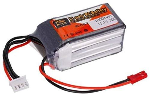 zop power Sunrobotics Lipo Rechargable Battery Power Supply Best For RC Cars Helicopter Drones Diy Robotics Original 3S (1000Mah 11.1V 30C)