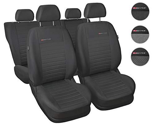 CoprisediliAuto Universale Anteriori e Posteriori Copri-Sedile con Airbag Sistema Elegance P4 -...