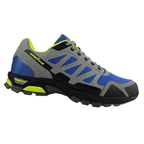 Goodyear S1P SRA Zapatos de Seguridad, Hombre, Multicolor, UK 7/EU 41