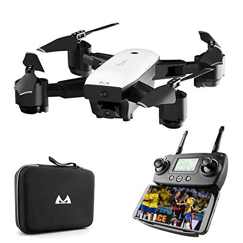 MBEN Droni Professionali e Fotocamere con GPS, 5G 110 ° grandangolare 1080P FPV WiFi Posizionamento di precisione Drone a Quattro Assi, seguimi, Ritorno Intelligente, Adatto per Principianti Adulti