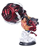 ALTcompluser - Figurine de collection en PVC - Monkey D Luffy du Manga One Piece - Cadeau pour les fans Luffy Gear 4.