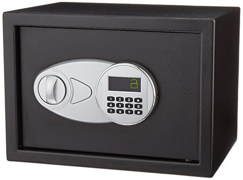 AmazonBasics - Caja fuerte (14,1 l), color negro