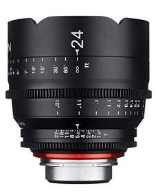Samyang XEEN 24mm T1.5 - Objetivo (SLR, Canon EF, Marco Completo, Canon, Aluminio, Negro)