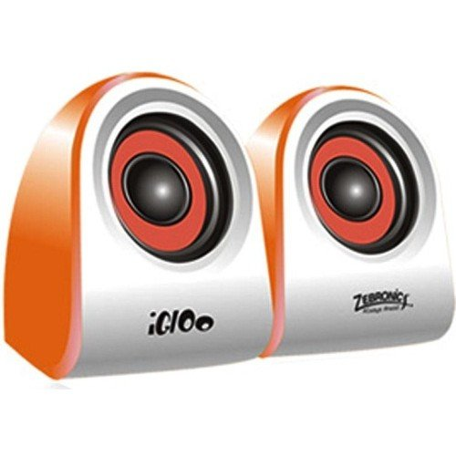 Zebronics Igloo 2.0 Channel Multimedia Speakers(Orange)