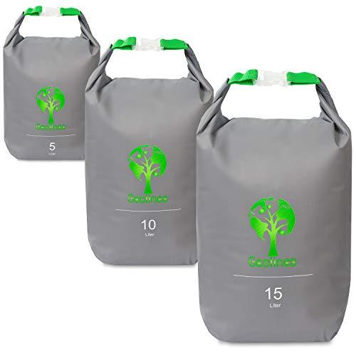 Geolines Drybag Packsack/Ultra Light Packsack (grau, 5 Liter)