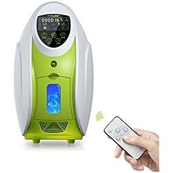 LIQICAI Portátil Concentrador de oxígeno Casa Generador de oxígeno Salida 1-5L / Min Purificador de aire Monitoreo en tiempo real / Smart SOS