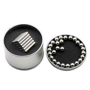 Varillas magnética juguete magnético Building Blocks Juguetes Imán Fidget con las bolas y palos de la caja para el estrés y la Oficina de Alivio del escritorio del hogar Decoración 1Ponga