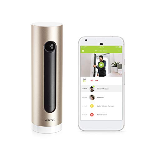 Netatmo Welcome, Home Security Camera with Face Recognition