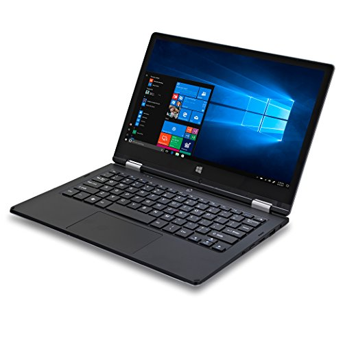 Ordinateur tablette HD convertible iOTA 360 11.6 pouces (argent) -  (Processeur quad-core Intel Atom Z8350 (fréquence 1.92GHz),  2 GO de RAM,  32GO eMMC, Windows 10, avec clavier français AZERTY)