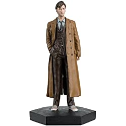 Doctor Who Figurine Collection - Figure #8 - 10th Doctor Who David Tennant - Hand Painted 1:21 Scale Model - Collector Boxed by Eaglemoss / Doctor Who