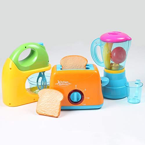 MoMo Honey Simulazione Elettrodomestici da Cucina, Mini Blender Tostapane Blender Frutta Mixer...