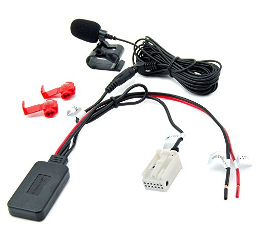 Watermark WM-BTMIC35 Bluetooth AUX Adapter Mercedes Audio 20 50 APS Comand NTG 2 Navi Radio Telefonieren Musik Streaming MP3