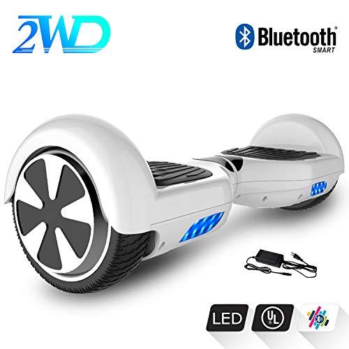 2WD Hoverboard Scooter elettrico auto bilanciato da 6,5 pollici scooter elettrico certificato CE con...