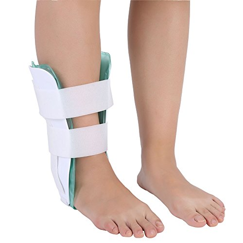 Knöchelstütze einstellbar atmungsaktiv Knöchelorthese Fuß Drop Orthese Knöchel Stabilisator Splint mit Gel Knöchelschutz Ideal für Verstauchung und Arthritis Recovery