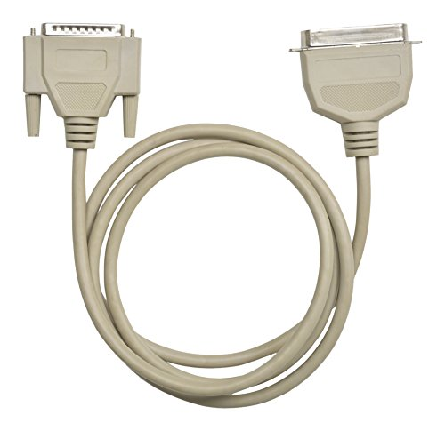 SDC PARALLEL PORT PRINTER CABLE- 25 CORE CABLE - 1.45 METERS - DB25 MALE TO 36 PIN CENTRONICS MALE CONNECTORS