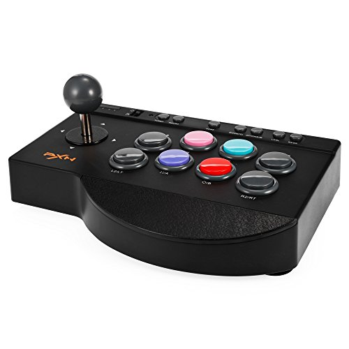 Arcade Stick, MoPei PXN Arcade Fight Stick Joystick Kit per PS4 / PS3 / Xbox One e PC Game Giochi