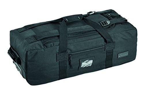 DEFCON 5 TROLLEY TRAVEL BAG SPALLEGGIABILE 70 Lt BLACK / DEFCON 5 TROLLEY TRAVEL BAG BLACK...