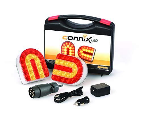 BITS4REASONS SPAREX CONNIX LED Kit Fanali LED Senza fili per la retromarcia - Wireless, Montaggio Magnetico S.130977