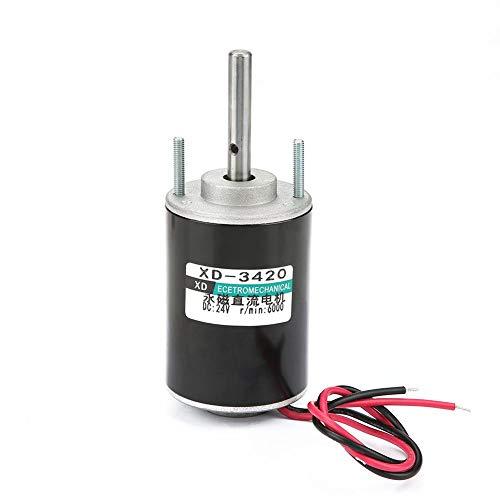 Questo motore elettrico DC è estremamente silenzioso, silenzioso, sicuro da usare. Con 3000/6000 giri / min ad alta velocità per la vostra scelta e coppia elevata. Ampiamente usato in macchina zucchero filato, piccolo banco da taglio, rettifi...