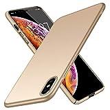 TopACE Cover iPhone XS Max Custodia iPhone XS Max Ultra Sottile Che Cade Superficie Protettiva Opaca Custodia per iPhone XS Max (Oro)