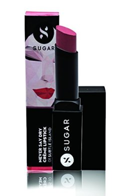 SUGAR Cosmetics Never Say Dry Crème Lipstick